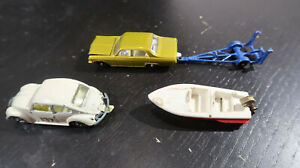 g Matchbox Opel Diplomat Superfast Volkswagen 1500 Saloon and Boat