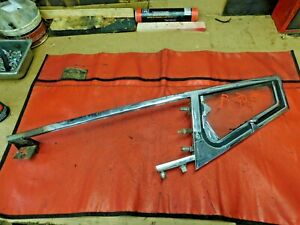 Mgb Right Door Chrome Vent Window Assembly Original Roadster