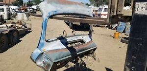 1951 1952 Ford Truck Complete Uncut Dash And Windshield Frame