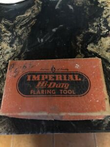 Hi duty Imperial Eastman Chicago 45 Flaring Tool Cat 300 f With Cutting Tool