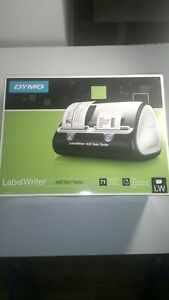 Dymo Label Writer 450 Twin Turbo Printer Machine 71 Labels Black Silver 1752266