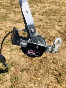 Westward Dual Ratchet Cable Puller 2000lb Pull Capacity 15ft Cable rope Length