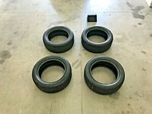 4 Continental Procontact Ssr Tires Like New 225 50 R 17 94 V