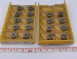 Kennametal Carbide Square Inserts Cpgm 32 52 K68 set Of 18 Inserts
