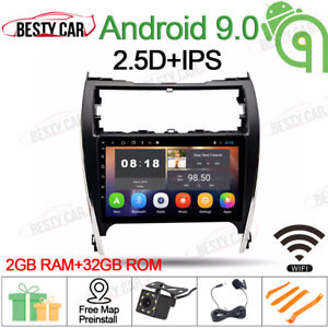 10 1 Android 9 0 Car Stereo Gps Radio For Toyota Camry 2012 2014 Usa