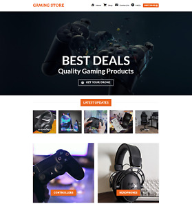 Profitable Game Store Turnkey Dropship Website Business For Sale