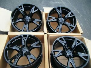 19 Nissan 370z 370 Z Rays Engineering Forged Factory Oem Wheels Rims Black