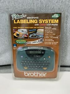 Brother P Touch Pt 65 M Tape Label Maker Printer Starter Tape New Open Package