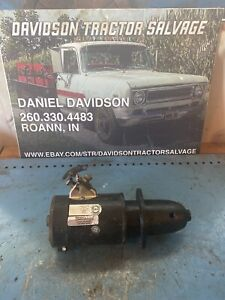Farmall A B C Bn Tractor Good Working 6v Starter Works Good Ih