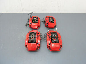 2007 06 07 08 Porsche 911 997 Carrera S Brembo Red Brake Caliper Set 5269