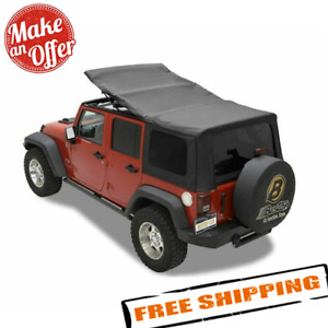 Bestop 79137 35 Sailcloth Replace A Top For 2007 2009 Jeep Wrangler Unlimited Jk