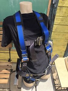 Fall Tech Palmer Safety Shock Absorbing Harness 9 l165635a Lanyard very Clean