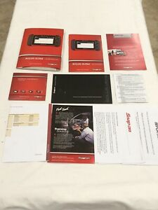 Snap On Solus Ultra Automotive Diagnostic Scanner Getting Started Pack Manuals