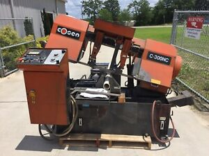 Cosen C 30nc Horizontal Band Saw
