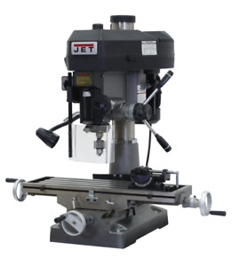 Jet Mill drill With R 8 Taper 115 230v 1ph 350018