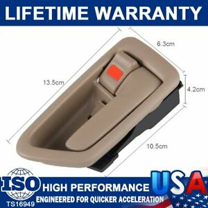 Inside Door Handle Trim Right Passenger Sides For 1997 2001 Toyota Sequoia Camry