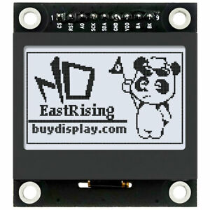 1 54 Inch White 128x64 Graphic Lcd Display Module Spi For Arduino