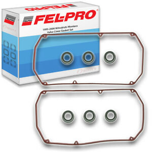 Fel pro Engine Valve Cover Gasket Set For 1995 2006 Mitsubishi Montero 3 0l Iu