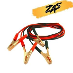 2000amp Heavy Duty Jump Leads Car Van Truck 8ft Booster Cables Starter Battery