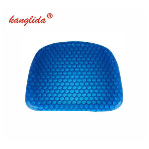 Breathable Gel Seat Cushion Pad Seat Flex Pillow Back Support Car Chair Home