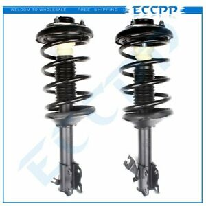 Front Pair For Nissan Maxima Infiniti I30 1995 1999 Complete Strut W Springs Set