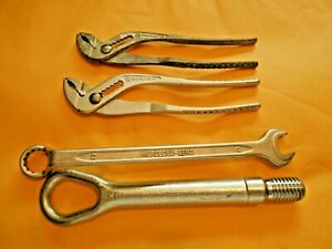 Mercedes benz 12 Tow Hook 2 Pair Pliers 1295810038 Heyco 1 Wrench 2015810246