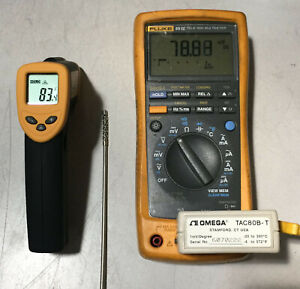 Omega Type T Thermocouple To Analog Converter Tac80b t