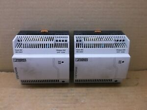 Step ps 1ac 24dc 3 8 c2lps Phoenix Contact 24vdc 3 8a Power Supply 2868677
