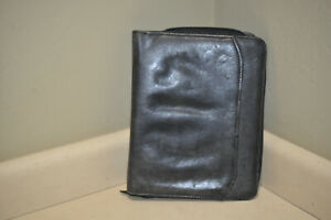 Design A Day 3 Ring Harness Leather Zipper Binder