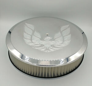Custom Machined Pontiac Trans Am Billet 14 Inch Round Air Cleaner