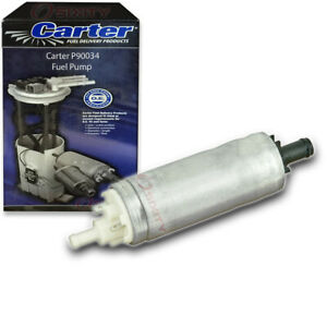 Carter P90034 Fuel Pump Electric Inline Pressure Transfer Gas Diesel Py