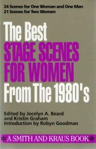 Best Stage Scenes for Women for the 1980#x27;s Scene Study Series $3.98