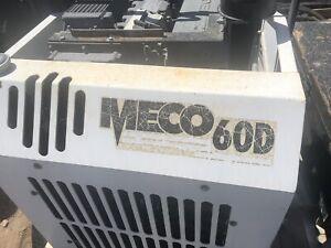 Meco Wall Saw Unit Concrete With Power Pack