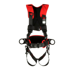 Dbi Sala 1161205 Comfort Construction Style Positioning Harness Black M l