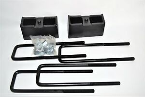 Pro Comp 3 Rear Lift Kit Block U Bolt 1999 2013 Chevy Gmc 1500 63513