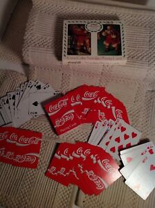 Coca Cola Playing Cards 1993 Collector Christmas Santa Deck And More Lot
