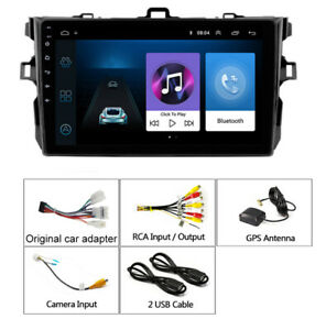 9 Android 8 1 Car Stereo Radio 2din Hd 1g 16g Gps For Toyota Corolla 2006 2012