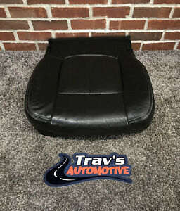 11 16 Ford F 250 f 350 Superduty Oem Lariat Leather Passenger Seat Bottom Cover