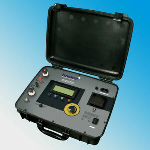 Tinsley Mo 5889 200a Portable Digital Micro ohmmeter 200 Amp 20m Megger