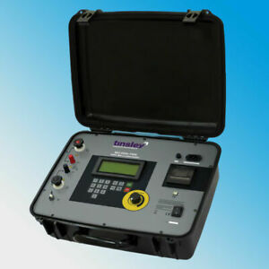 Tinsley Mo 5899 100a 100 Amps Digital Micro ohmmeter Dlro 300 M Megger