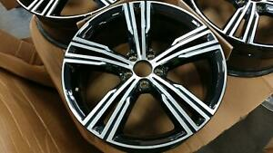 1 Wheel Rim For Volvo S60 Oem Take Off 90 Pct Machined W Blk