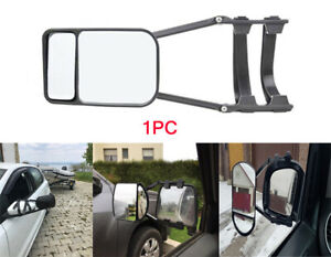 Universal Clip On Trailer Towing Side Mirror Extender For Truck Suv Rv Caravan