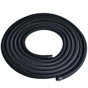 1m Nylon Steel Braided Fuel Oil Gas Line Hose An16 An 16 3 3ft Durable