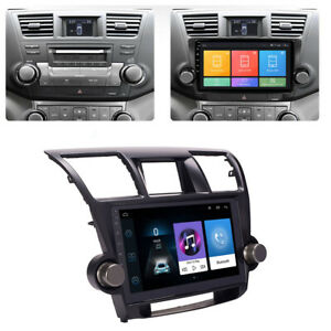 10 1 Android 9 1 Car Stereo Radio Head Unit Gps For Toyota Highlander 2008 13