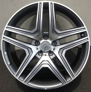 20 Wheels Fit Mercedes Ml350 500 Gl450 Gl550 R350 Gl63 With Tires Gunmetal Rims