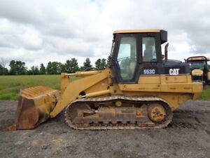 2002 Caterpillar 953c Crawler loader Cab heat air Joystick Loader Controls