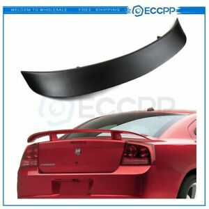 Stylish Look For 2006 2010 Dodge Charger Factory Style Rear Trunk Wing Spoiler