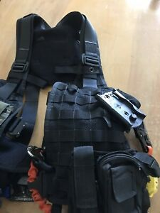 Molle Tactical Rescue Harness Helicopter Aviation Rescue Vest Hoist Rescue