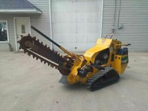 2016 Vermeer Rtx250 Walk Behind 3 Track Trencher 36 X 4 Trench Rtx 250