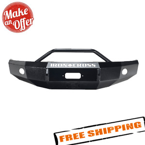 Iron Cross 22 405 92 Black Heavy Duty Front Bumper For 92 07 Ford E series Van